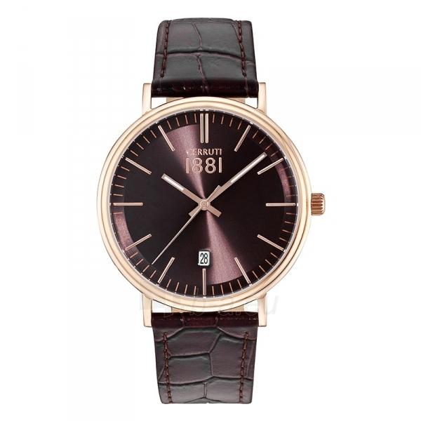 Vyriškas laikrodis Cerruti 1881 CRA111SR12BR Paveikslėlis 1 iš 1 30069607328