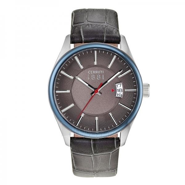 Male laikrodis Cerruti 1881 CRA127STBL61GY Paveikslėlis 1 iš 1 30069607187