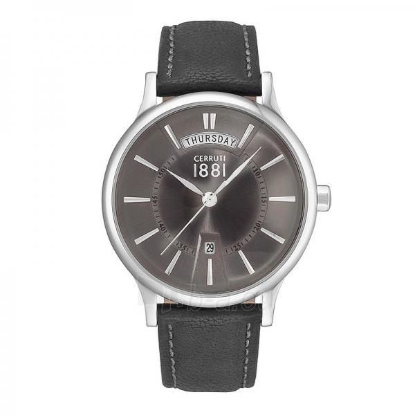 Vyriškas laikrodis Cerruti 1881 CRA128SN61BK Paveikslėlis 1 iš 1 30069607330