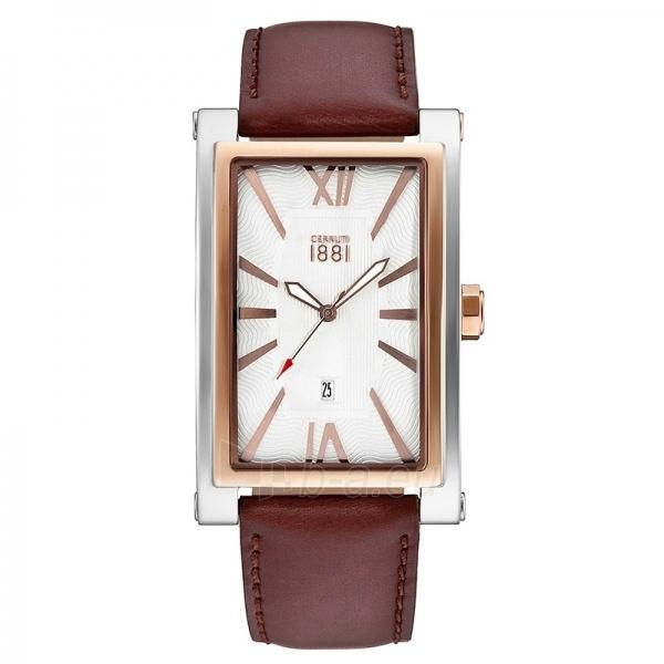 Vyriškas laikrodis Cerruti 1881 CRB042STR04DB Paveikslėlis 1 iš 1 30069607332