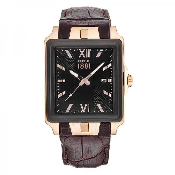 Vyriškas laikrodis Cerruti 1881 CRC015D222C Paveikslėlis 1 iš 1 30069607190