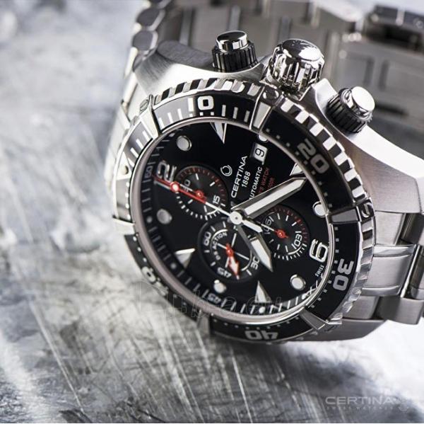 Vyriškas laikrodis Certina AQUA COLLECTION - DS ACTION Chrono - Automatic C032.427.11.051.00 Paveikslėlis 2 iš 3 310820116908
