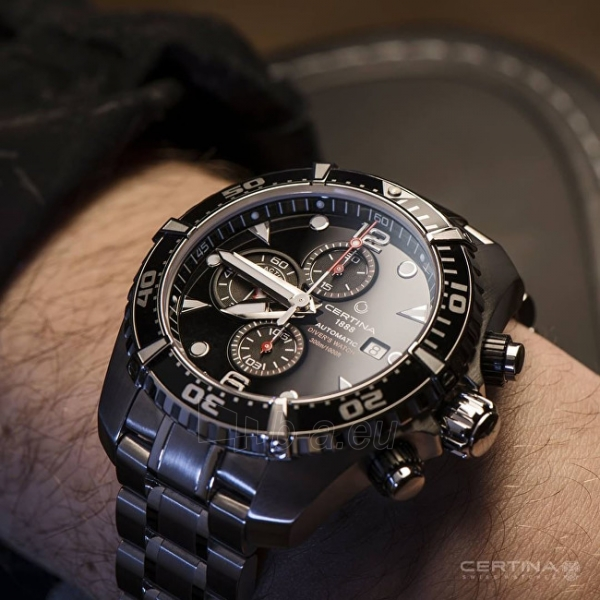 Vyriškas laikrodis Certina AQUA COLLECTION - DS ACTION Chrono - Automatic C032.427.11.051.00 Paveikslėlis 3 iš 3 310820116908