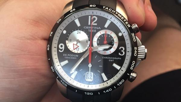 Vyriškas laikrodis Certina SPORT COLLECTION - DS PODIUM Chrono - Quartz C001.639.27.057.00 Paveikslėlis 3 iš 4 310820133560