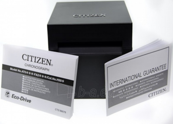 Male laikrodis Citizen BY0011-50E Paveikslėlis 2 iš 2 30069607241