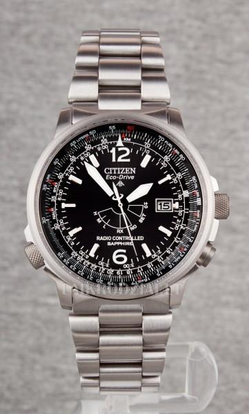 Men's watch Citizen Eco-Drive Pilot Radiocontrolled AS2031-57E Paveikslėlis 1 iš 7 30069602456