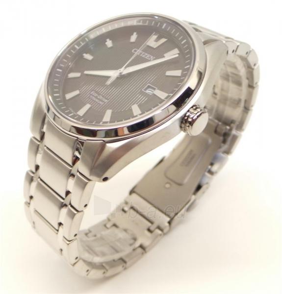 Vyriškas laikrodis Citizen Titanium AW1240-57E Paveikslėlis 4 iš 5 30069607278