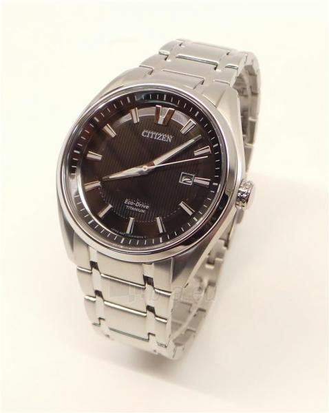 Vyriškas laikrodis Citizen Titanium AW1240-57E Paveikslėlis 5 iš 5 30069607278