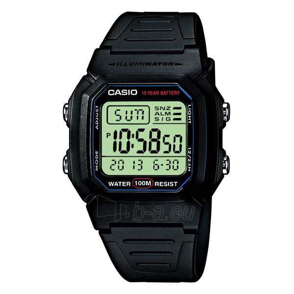 Vyriškas laikrodis Elektroninis Casio W-800H-1AVES Paveikslėlis 1 iš 2 30069608255