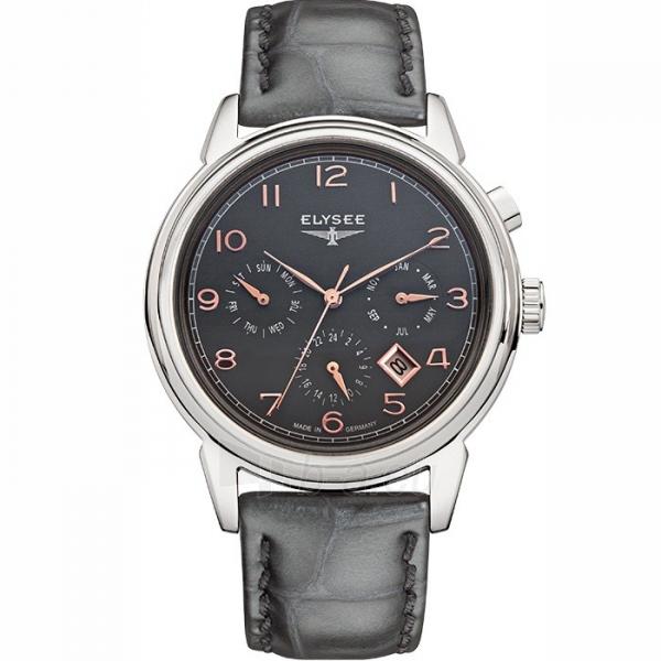 Male laikrodis ELYSEE Vintage Calendar 80556 Paveikslėlis 1 iš 4 30069610199