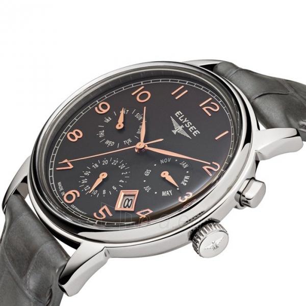 Male laikrodis ELYSEE Vintage Calendar 80556 Paveikslėlis 4 iš 4 30069610199