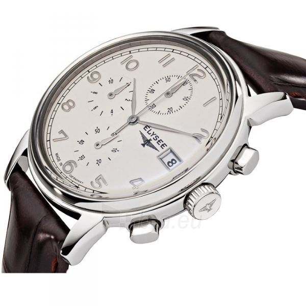 Vyriškas laikrodis ELYSEE Vintage Chrono 80550 Paveikslėlis 3 iš 3 310820105117