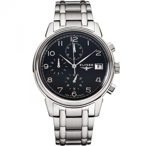 Vyriškas laikrodis ELYSEE Vintage Chrono 80551S Paveikslėlis 2 iš 3 30069610202
