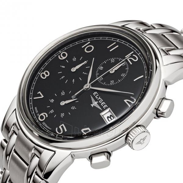 Vyriškas laikrodis ELYSEE Vintage Chrono 80551S Paveikslėlis 3 iš 3 30069610202