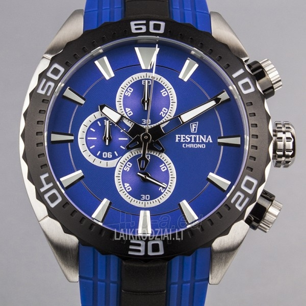 Vīriešu pulkstenis Festina F16664/6 Paveikslėlis 3 iš 6 30069607309