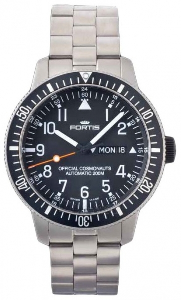 Vīriešu pulkstenis Fortis B-42 Official Cosmonauts 647.27.11M Paveikslėlis 1 iš 5 30069607469