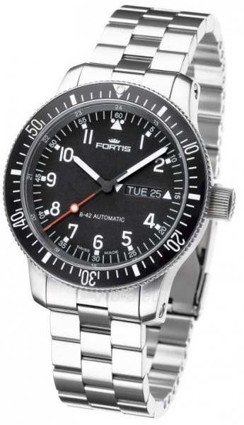 Vīriešu pulkstenis Fortis B-42 Official Cosmonauts 647.27.11M Paveikslėlis 4 iš 5 30069607469