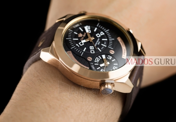 Vyriškas laikrodis Gino Rossi Dual Time GR1619RJ Paveikslėlis 3 iš 3 30069604797