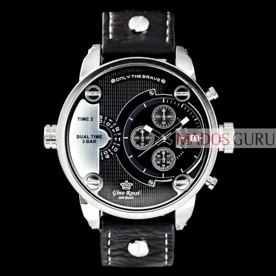 Gino Rossi Dual Time pulkstenis GR872J Paveikslėlis 1 iš 1 30069604675
