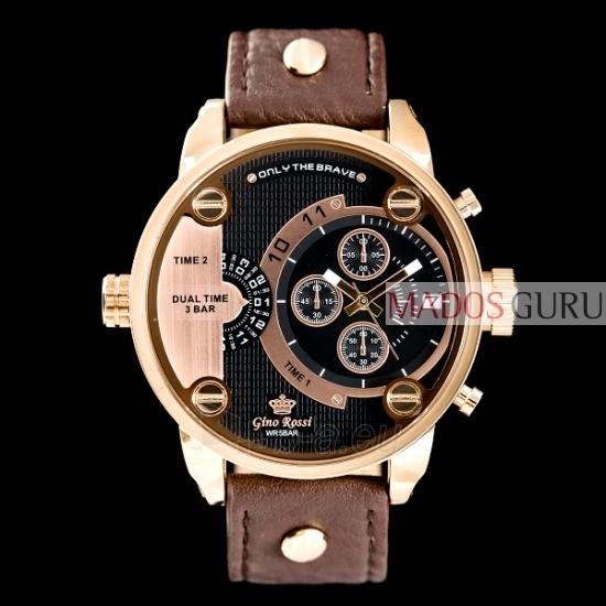 Vyriškas laikrodis Gino Rossi Dual Time GR872RJ Paveikslėlis 1 iš 1 30069604677
