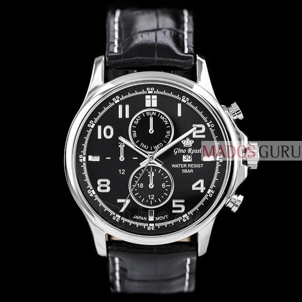 Vīriešu Gino Rossi pulkstenis GR1374JJ Paveikslėlis 1 iš 5 30069605124