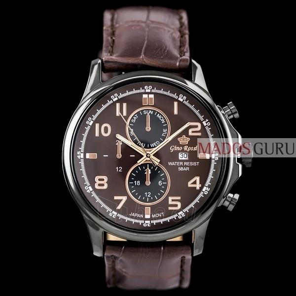 Vyriškas laikrodis Gino Rossi GR1374RR Paveikslėlis 1 iš 5 30069605087