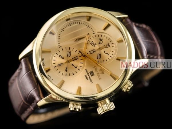 Vyriškas laikrodis Gino Rossi GR8006RG Paveikslėlis 2 iš 5 30069604813