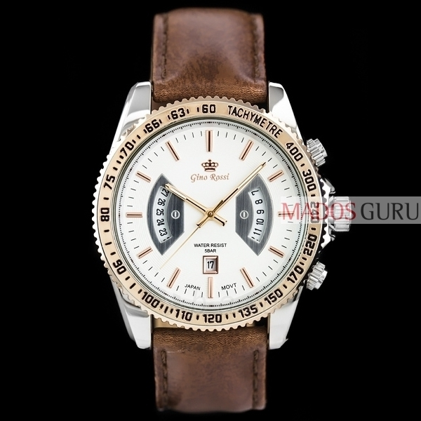 Vyriškas laikrodis Gino Rossi GR8225RS Paveikslėlis 2 iš 6 30069605149
