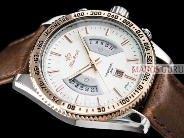 Vyriškas laikrodis Gino Rossi GR8225RS Paveikslėlis 4 iš 6 30069605149