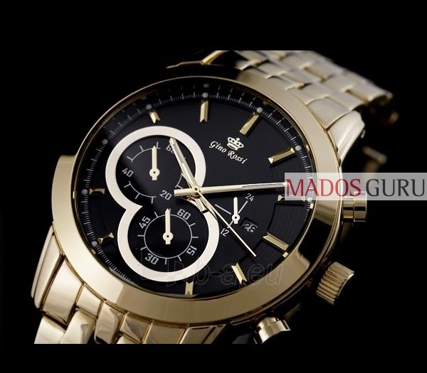 Vīriešu Gino Rossi pulkstenis GR9774A Paveikslėlis 5 iš 6 30069600820