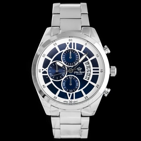 Male laikrodis Gino Rossi laikrodis GR1946SM Paveikslėlis 1 iš 5 30069610830