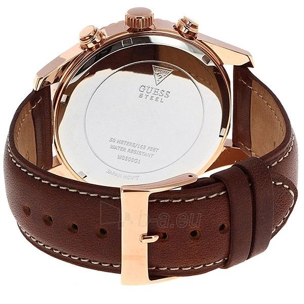 Vyriškas laikrodis GUESS  W0500G1 Paveikslėlis 4 iš 4 30069610026