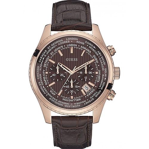 Vīriešu pulkstenis GUESS  W0500G3 Paveikslėlis 1 iš 2 30069610027