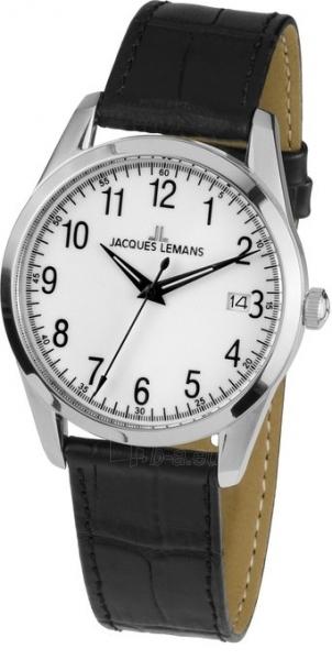 Male laikrodis JACQUES LEMANS  1-1769B Paveikslėlis 2 iš 2 30069609965