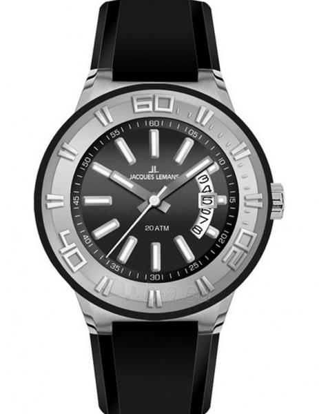 Vyriškas laikrodis JACQUES LEMANS  1-1785A Paveikslėlis 1 iš 1 30069609976