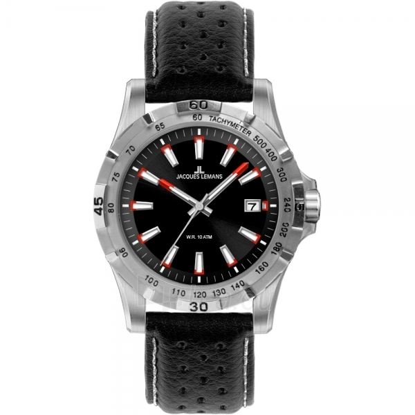 Male laikrodis JACQUES LEMANS  1-1790A Paveikslėlis 1 iš 2 30069609979