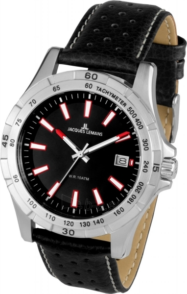 Male laikrodis JACQUES LEMANS  1-1790A Paveikslėlis 2 iš 2 30069609979