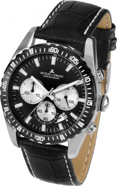 Male laikrodis JACQUES LEMANS  1-1801A Paveikslėlis 2 iš 2 30069609980