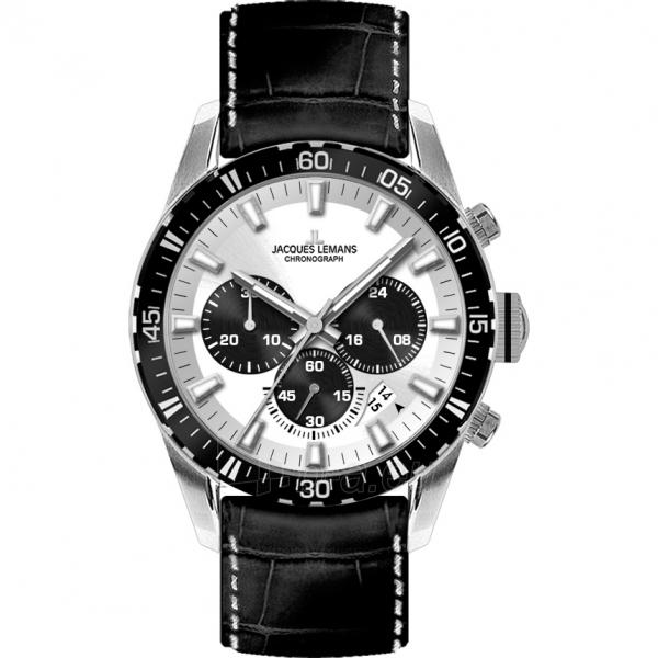 Vīriešu pulkstenis JACQUES LEMANS  1-1801B Paveikslėlis 1 iš 2 30069609981