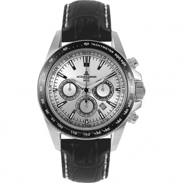 Male laikrodis JACQUES LEMANS  1-1836A Paveikslėlis 1 iš 2 30069609983