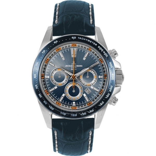 Male laikrodis JACQUES LEMANS  1-1836B Paveikslėlis 1 iš 2 30069609984