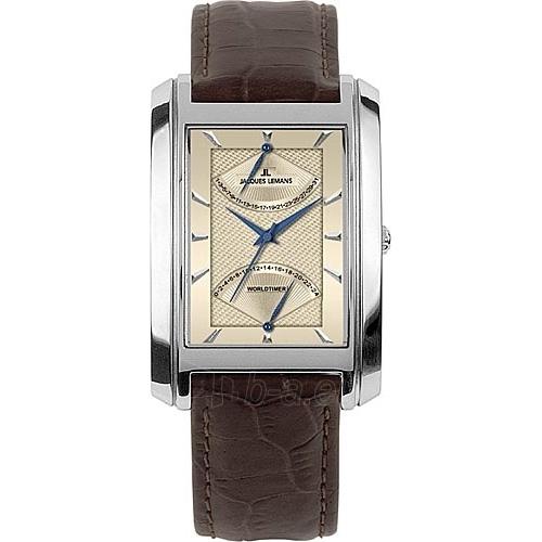 Vyriškas laikrodis Jacques Lemans 1-1243B Paveikslėlis 1 iš 1 30069607536