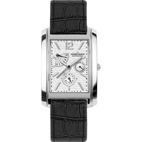 Vyriškas laikrodis Jacques Lemans 1-1246B Paveikslėlis 1 iš 1 30069610257