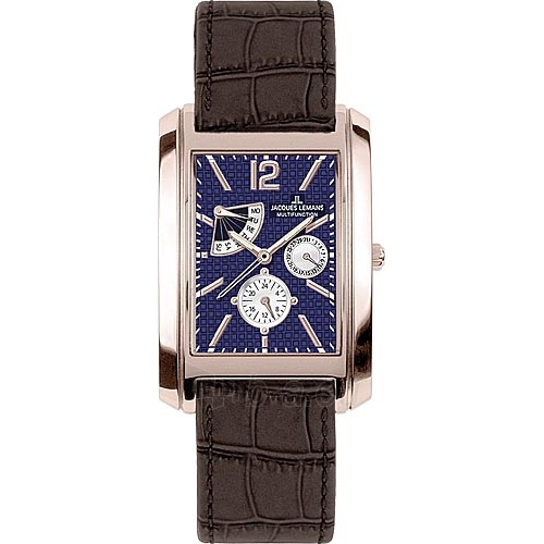 Vīriešu pulkstenis Jacques Lemans 1-1246F Paveikslėlis 1 iš 1 30069607538