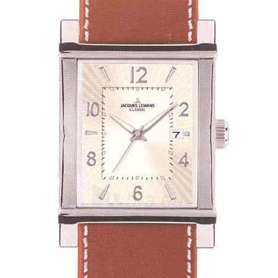 Vīriešu pulkstenis Jacques Lemans 1-1297B Paveikslėlis 1 iš 1 30069607542