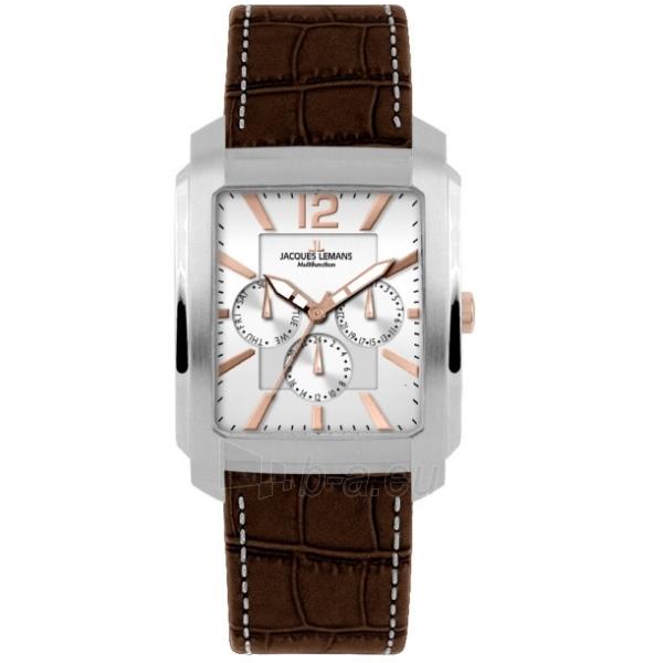 Male laikrodis Jacques Lemans 1-1463W Paveikslėlis 1 iš 2 30069607555