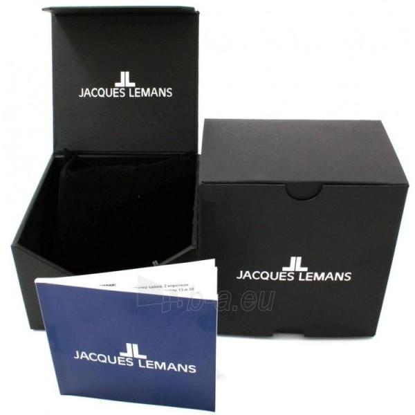 Male laikrodis Jacques Lemans 1-1463W Paveikslėlis 2 iš 2 30069607555