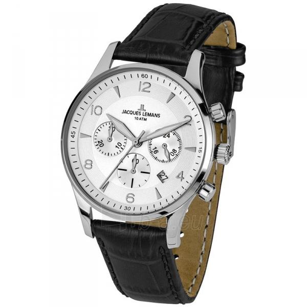 Male laikrodis Jacques Lemans 1-1654B Paveikslėlis 1 iš 1 310820009669