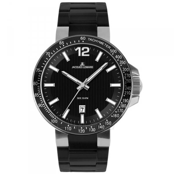 Vīriešu pulkstenis Jacques Lemans 1-1695A Paveikslėlis 1 iš 1 310820009667