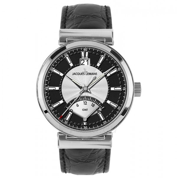 Vyriškas laikrodis Jacques Lemans 1-1697A Paveikslėlis 1 iš 1 30069607582